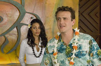 Mila Kunis and Jason Segel in